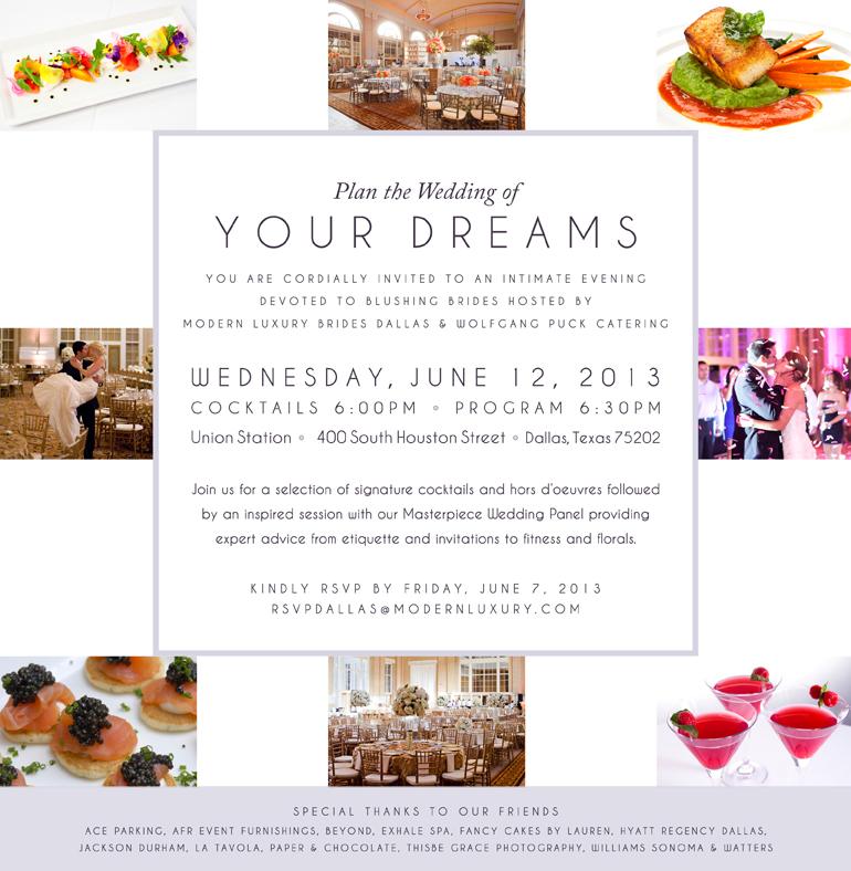 Union Station ~ Modern Luxury Bridal Event 6.12.13