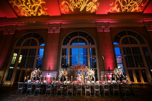 Union Station wedding lighting Jenny Martell